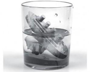 Titanic icecube