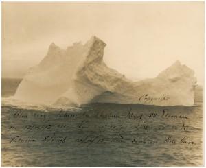 Titanic Iceberg Photograph