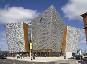 Titanic Belfast (side view)