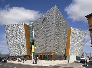 Titanic Belfast (side view) Image:Prioryman (Wikipedia)