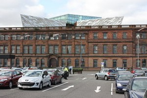Titanic House (former Harland and Wolff Drawing Offices), Queens Road, Belfast, Northern Ireland, March 2012 Photo:Ardfern(Wikimedia Commons)