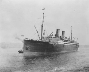 RMS Empress of Ireland 1908 Photo:Public Domain (Library and Archives Canada / PA-116389)