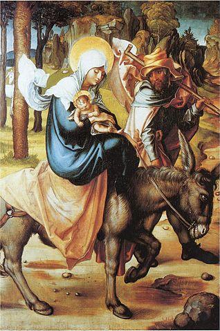 The Flight into Egypt (Albrecht Dürer 1471-1528) Photo: Public Domain