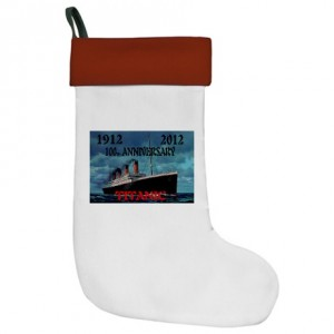 Titanic Christmas Stocking