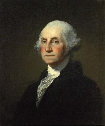George Washington (1732–99) by Gilbert Stuart  Photo: Public Domain (Wikimedia Commons)