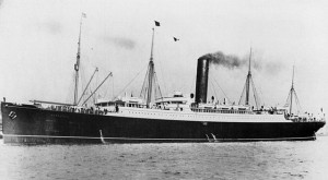 RMS Carpathia (date unknown) Image: public domain