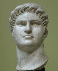 Emperor Nero. Plaster cast in Pushkin museum after original in British Museum, London Photo:shakko(Wikipedia)