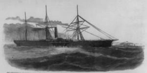 SS Central America (1857) Source: Public Domain (Wikipedia)
