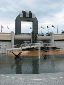 National D-Day Memorial at Bedford, Virginia Photo:Public Domain