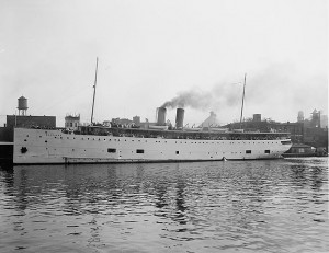 SS Eastland circa 1911 Photo: public domain (Library of Congress)