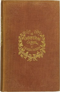 First Edition of A Christmas Carol With Illustrations by John Leech. London: Chapman & Hall, 1843 Image: public domain