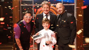 Masterchef Junior Season 2 Winner Logan Guleff Photo: Fox