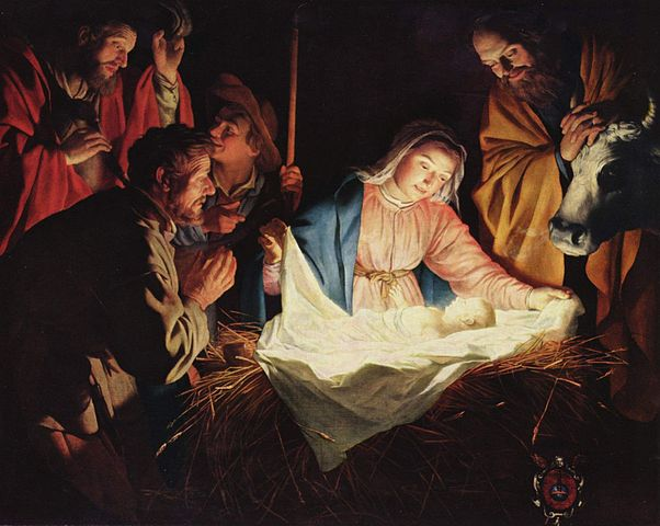 The Adoration of the Shepherds (Gerard van Honthorst 1590–1656) Image: Public Domain (Wikipedia)