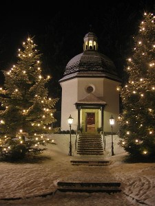Silent Night Chapel in Oberndorf bei Salzburg, Austria. Photo:Gakuro