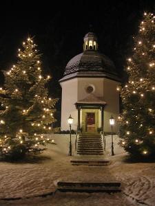 Silent Night Chapel in Oberndorf bei Salzburg, Austria. Photo:Gakuro