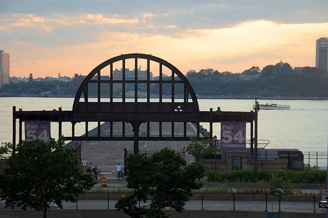 Pier 54, 2012 where Carpathia docked to unload Titanic survivors, Photo:  Mike Peel (www.mikepeel.net)
