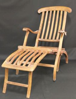 Nantucket Titanic Deck Chair Photo: Henry Aldridge & Son