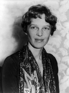 Amelia Earhart circa 1928 Public Domain (U.S. Library of Congress digital ID# cph.3a22092)