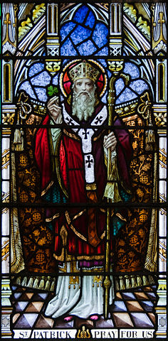 St. Patrick, Patron Saint of Ireland. Photo:Andreas F. Borchert
