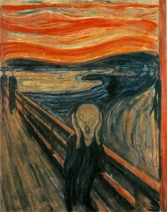 The Scream (Edward Munch, 1893) Public Domain
