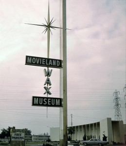Movieland Wax Museum, Buena Park, Nov. 1963 Photo courtesy Orange County Archives