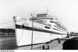 Wilhelm Gustloff in Danzig, September 1939. Photo: German Federal Archives (Bild 183-H27992 )