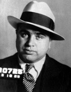 Al Capone Mug Shot 1939