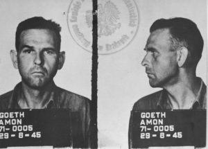 Amon Goth mug shot 1945