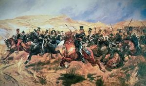 Charge of the Light Brigade by Richard Caton Woodville Jr.